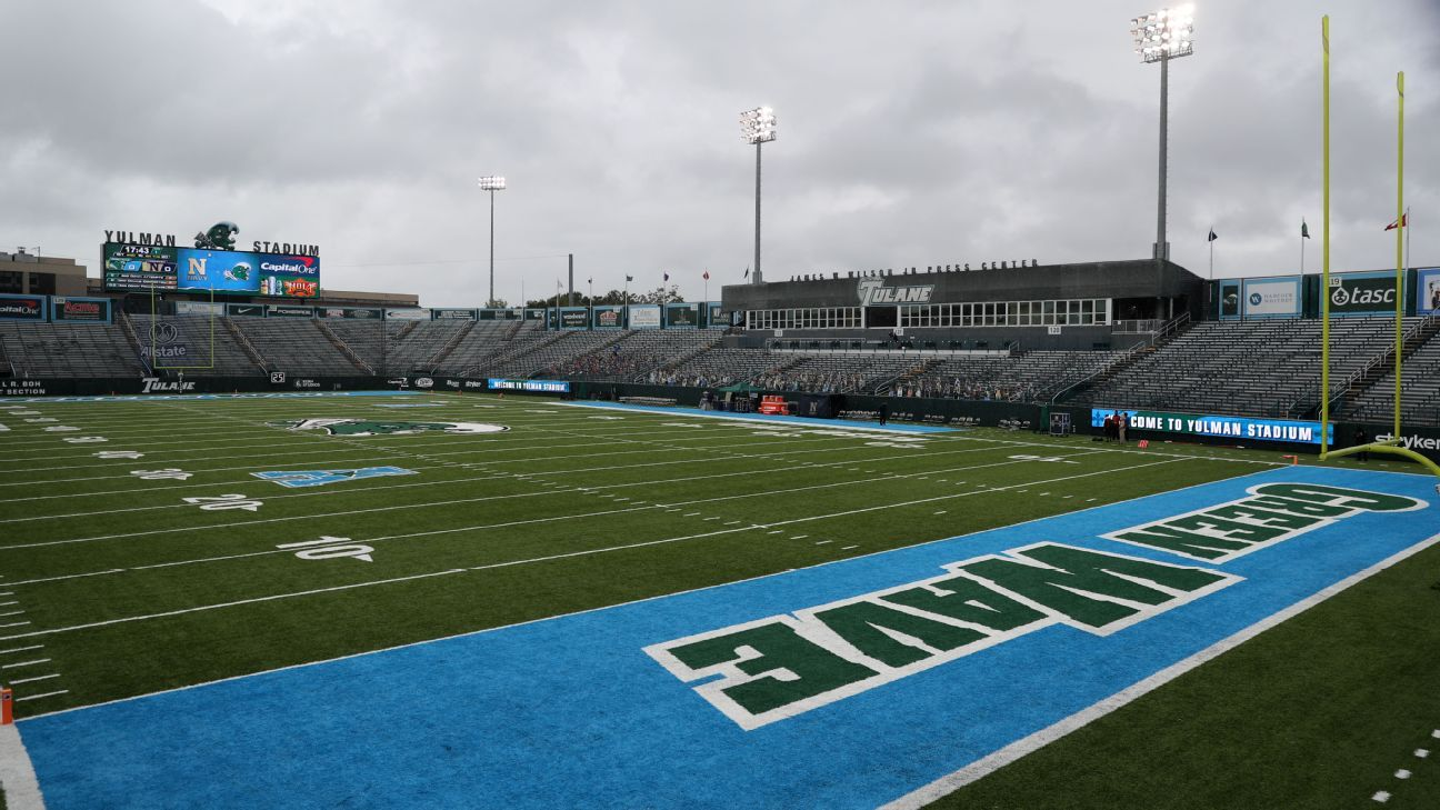 Source -- Hurricane Ida forces cancellation of Oklahoma-Tulane football game in New Orleans; Officials discussing contingency plan