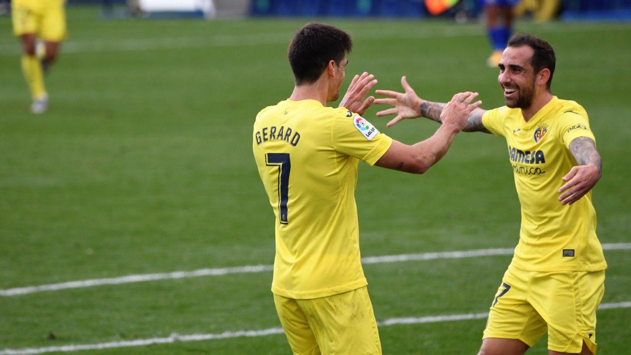 Getafe vs. Villarreal - Reporte del Partido - 8 noviembre, 2020 - ESPN