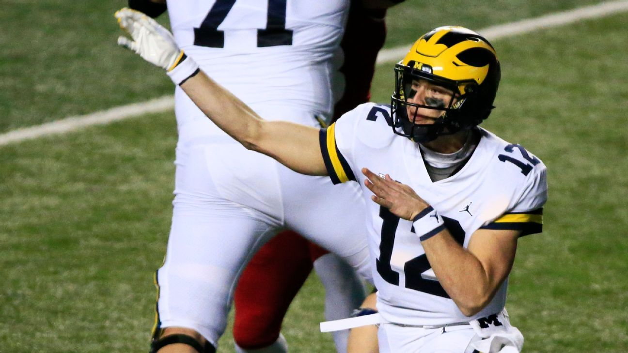 Michigan's Cade McNamara 'inspiring' off bench in comeback win over Rutgers