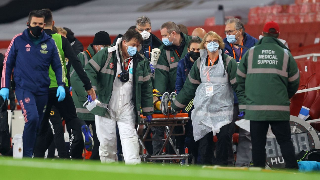 Jimenez suffers fractured skull after Luiz clash