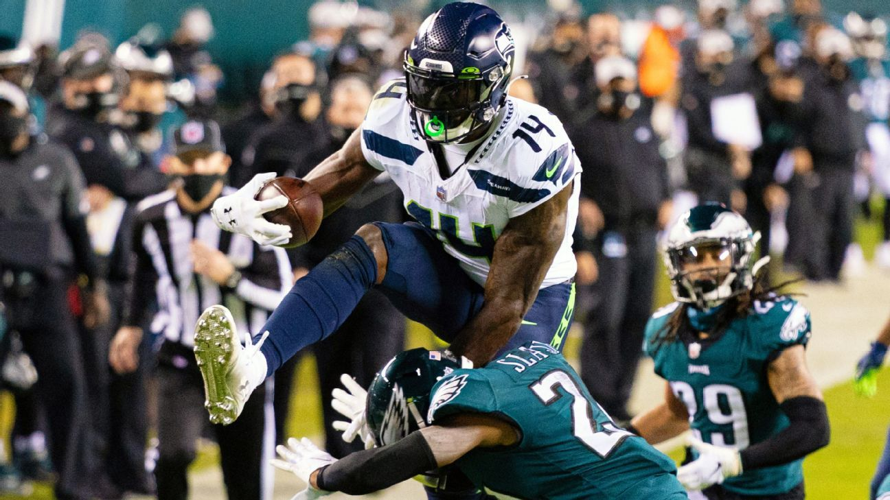 DK Metcalf posts career high in receiving yards as Seattle Seahawks soar in Philadelphia - ESPN India
