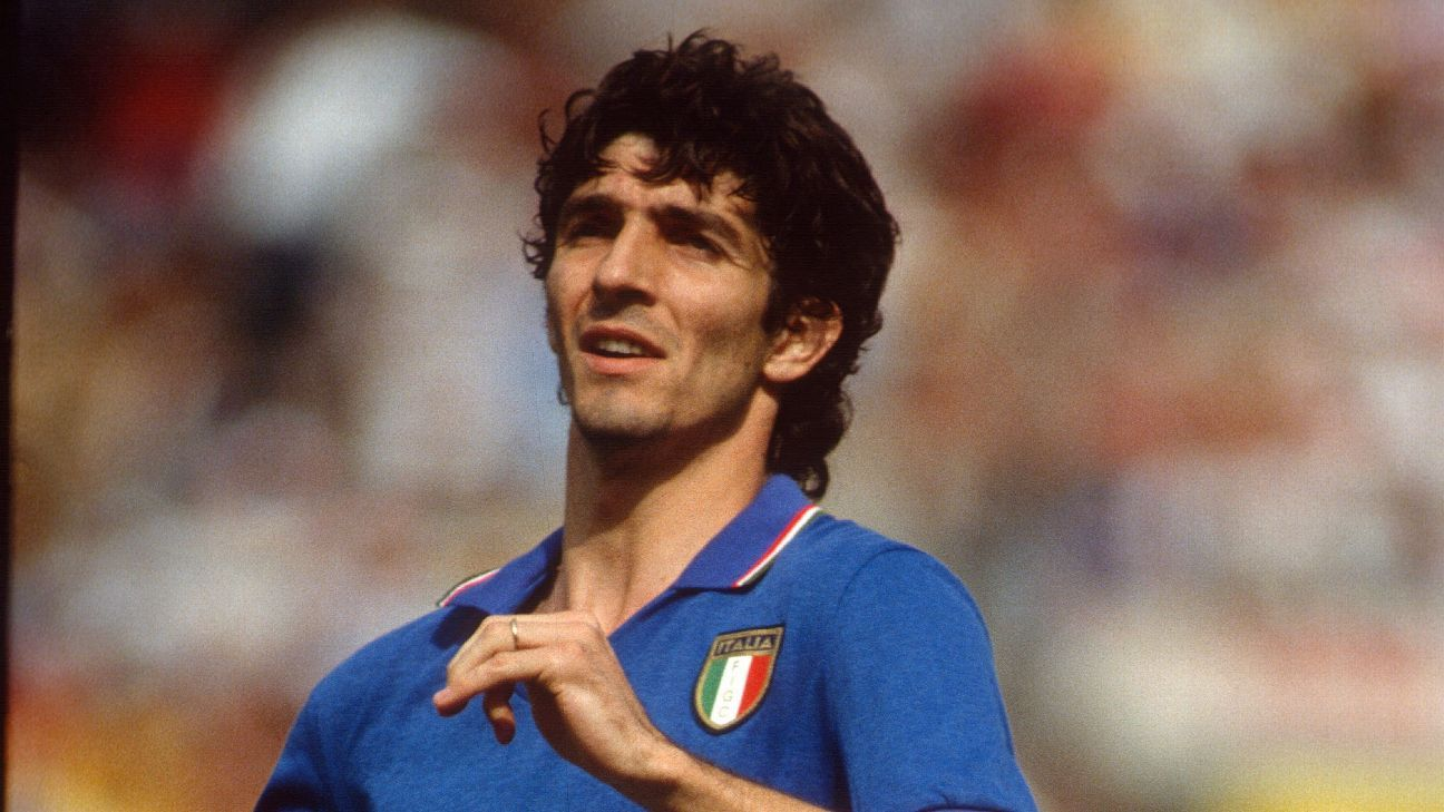 Paolo Rossi, Italy's 1982 WC hero, dies at 64