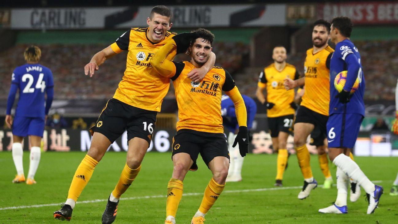 Wolverhampton Wanderers vs. Chelsea - Reporte del Partido - 15 diciembre, 2020 - ESPN