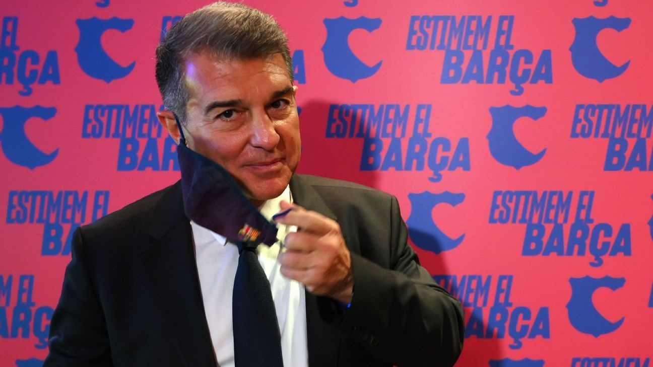 Joan Laporta regresará al mando del Barcelona tras ganar la elección presidencial