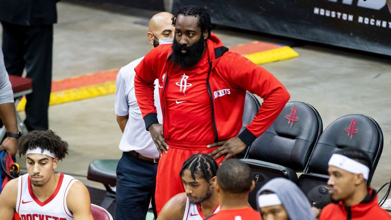 Rockets-Thunder postponed – What's next for the NBA James Harden and both teams – ESPN