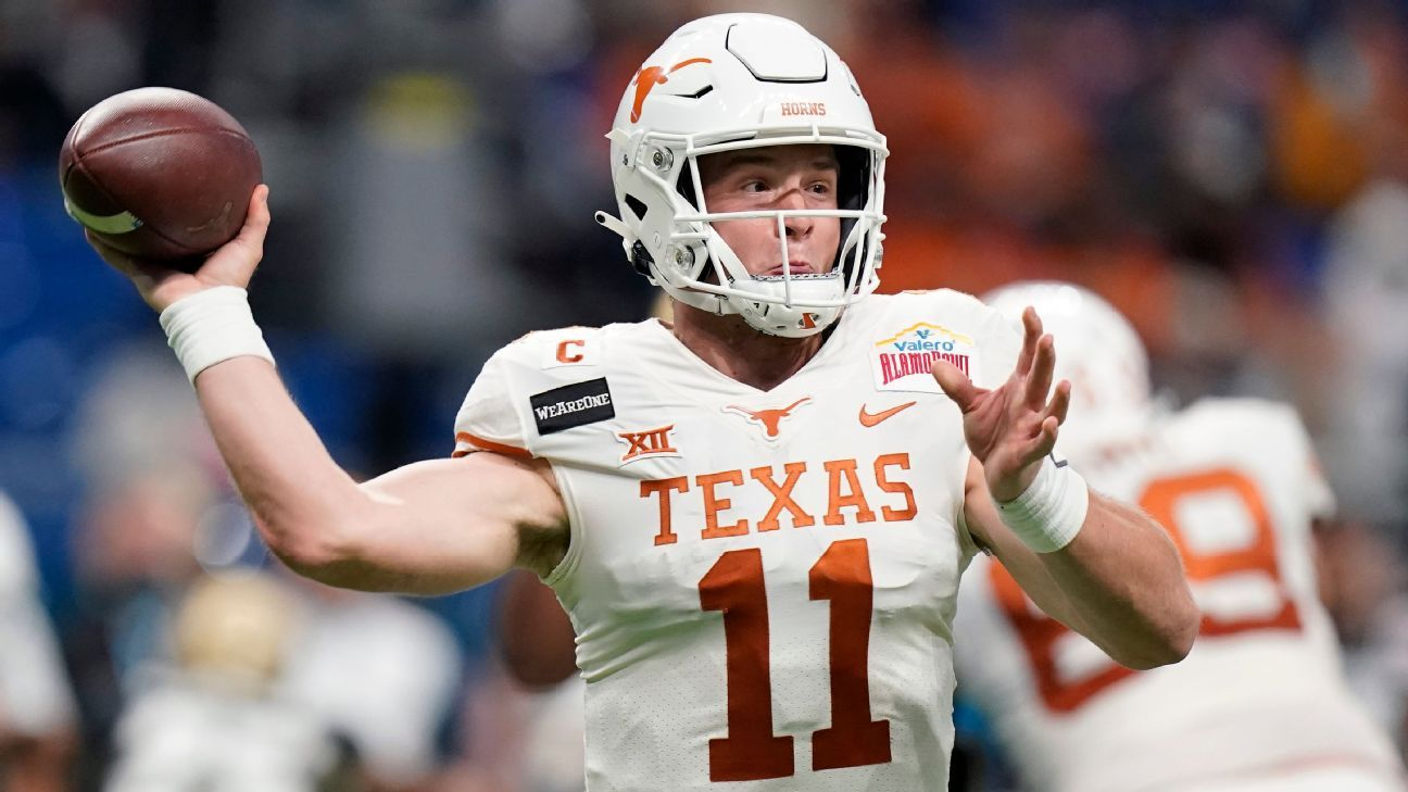 Texas Longhorns QB Sam Ehlinger to Enter 2021 NFL Draft
