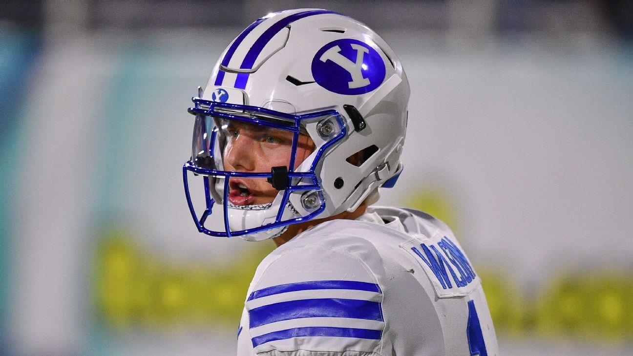 Zach Wilson tiene posibilidades de estar en la primera ronda del draft