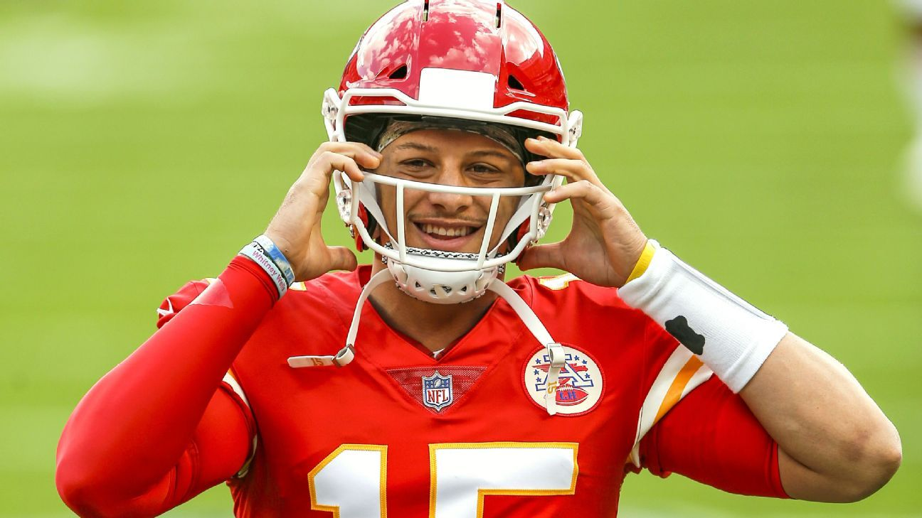 Kansas City Chiefs QB Patrick Mahomes says he's out of concussion protocol, cleared to play Sunday