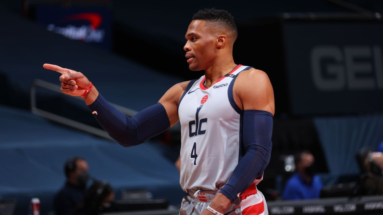 Washington Wizards Russell Westbrook Out For At Least A Week With Quadriceps Injury