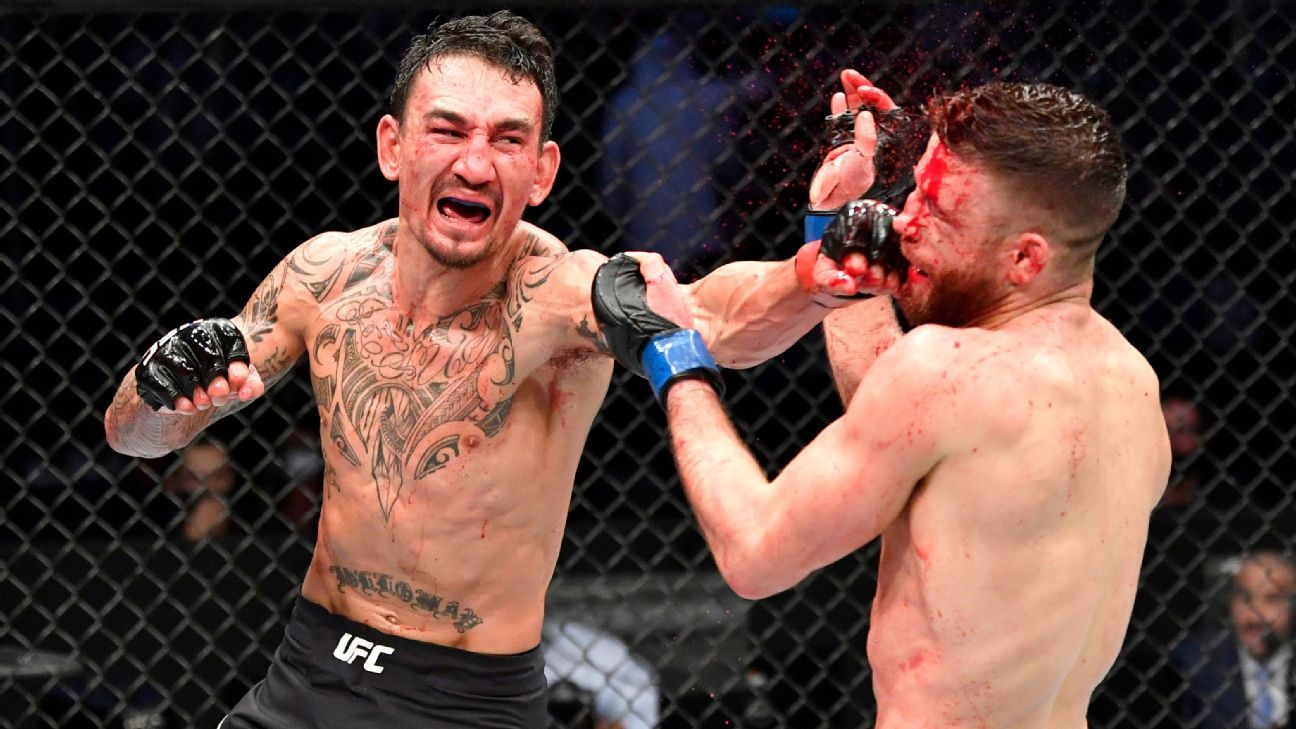 No sparring, no problem: Holloway seizes the moment on UFC Fight Island