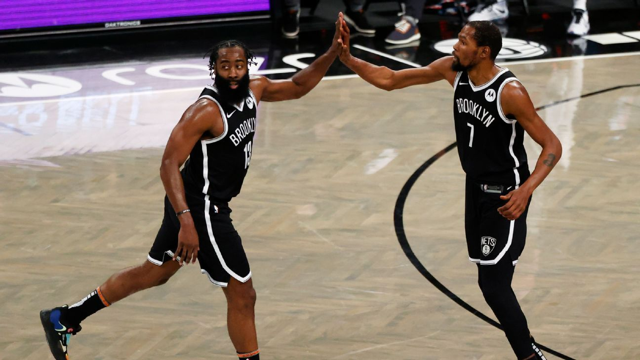 Harden: Maturity behind early chemistry with KD
