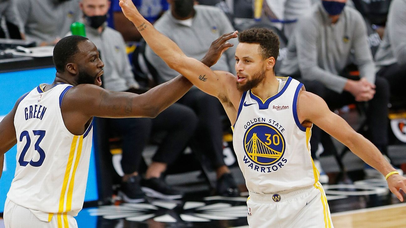 Golden State Warriors wild over Stephen Curry after miraculous basket - ESPN India