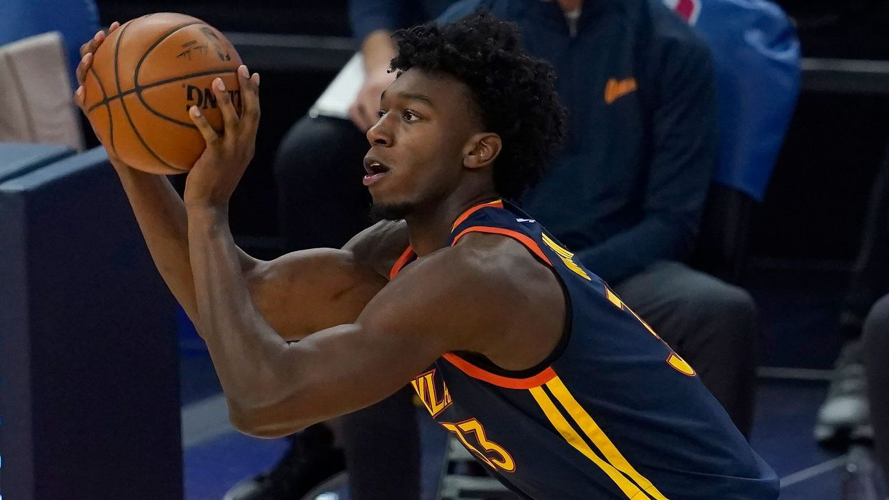 Golden State Warriors Rookie James Wiseman Wrist Out At Least Another Week