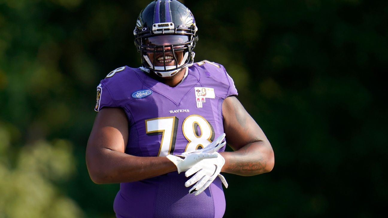Source: Ravens' Brown explores trade possibility