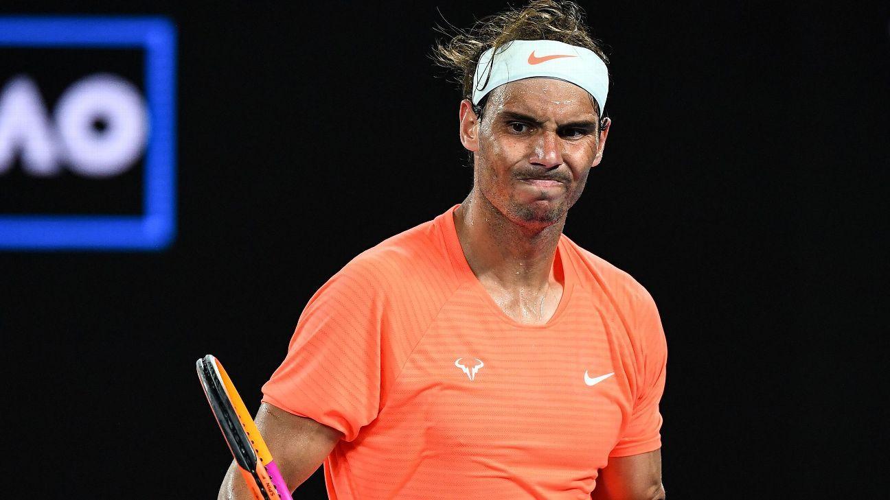 What Rafael Nadal's Australian Open loss means for Federer, Djokovic and career Slams race - ESPN India