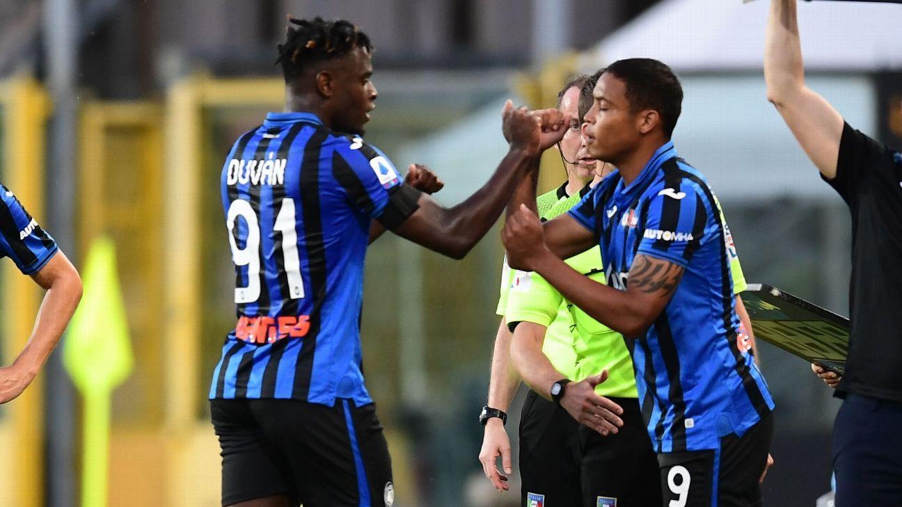 Duván y Muriel podrían hacer historia con Atalanta esta semana en la UEFA Champions League