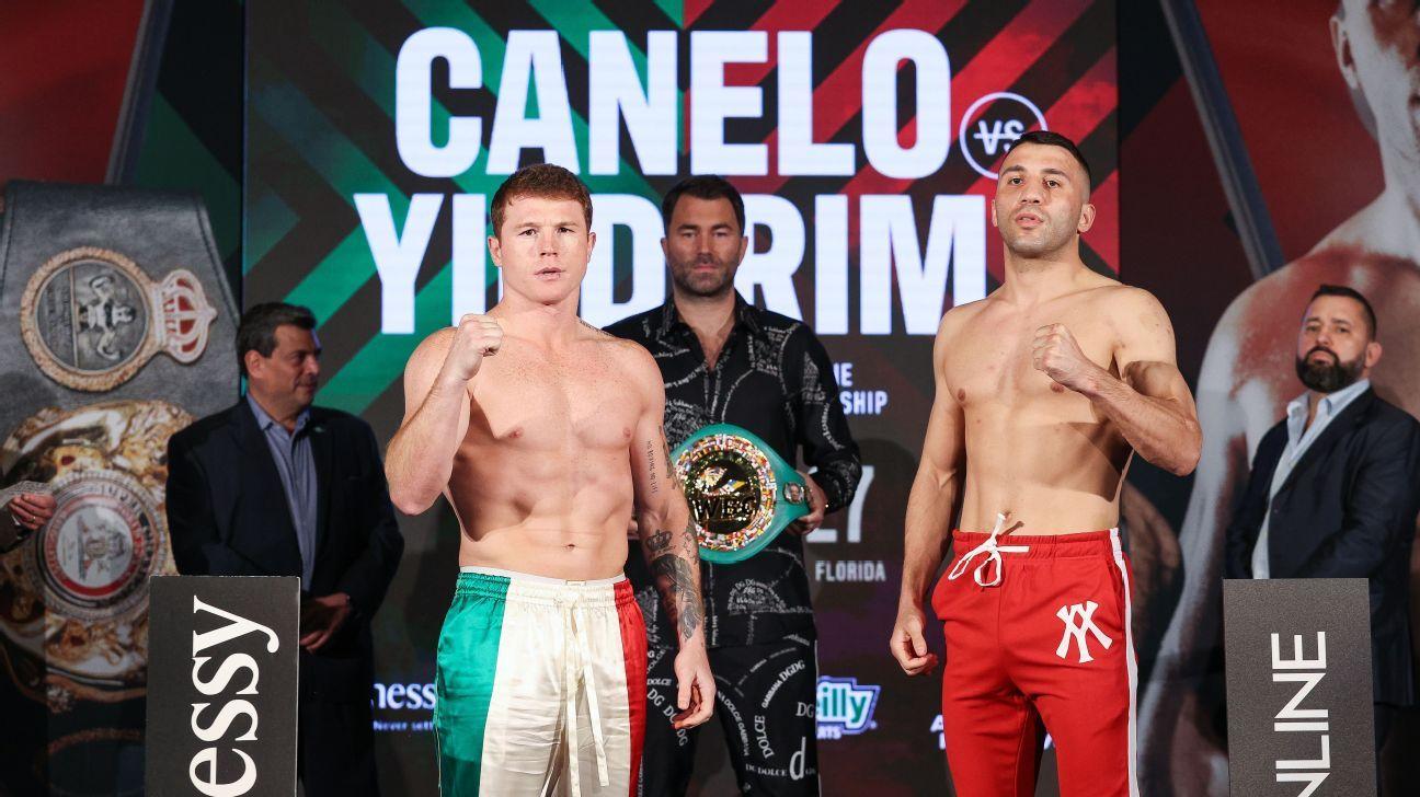 Ringside Seat - Can Canelo Alvarez take care of business against long shot Avni Yildirim? - ESPN