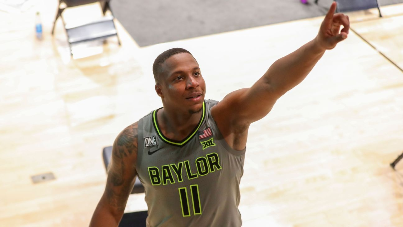 No. 3 Baylor clinches first Big 12 regular-season title with OT win vs. West Virginia - ESPN