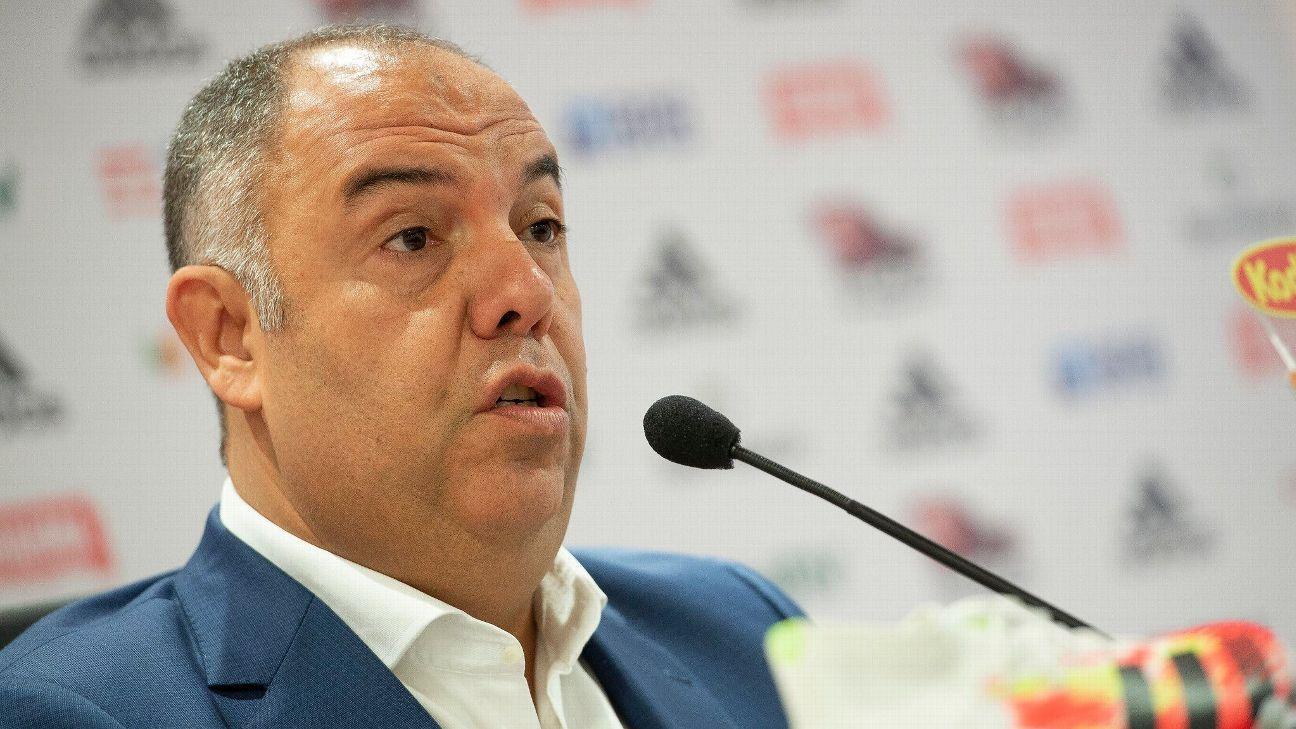 Marcos Braz diz que Flamengo está atento ao mercado, mas despista sobre Daniel Alves