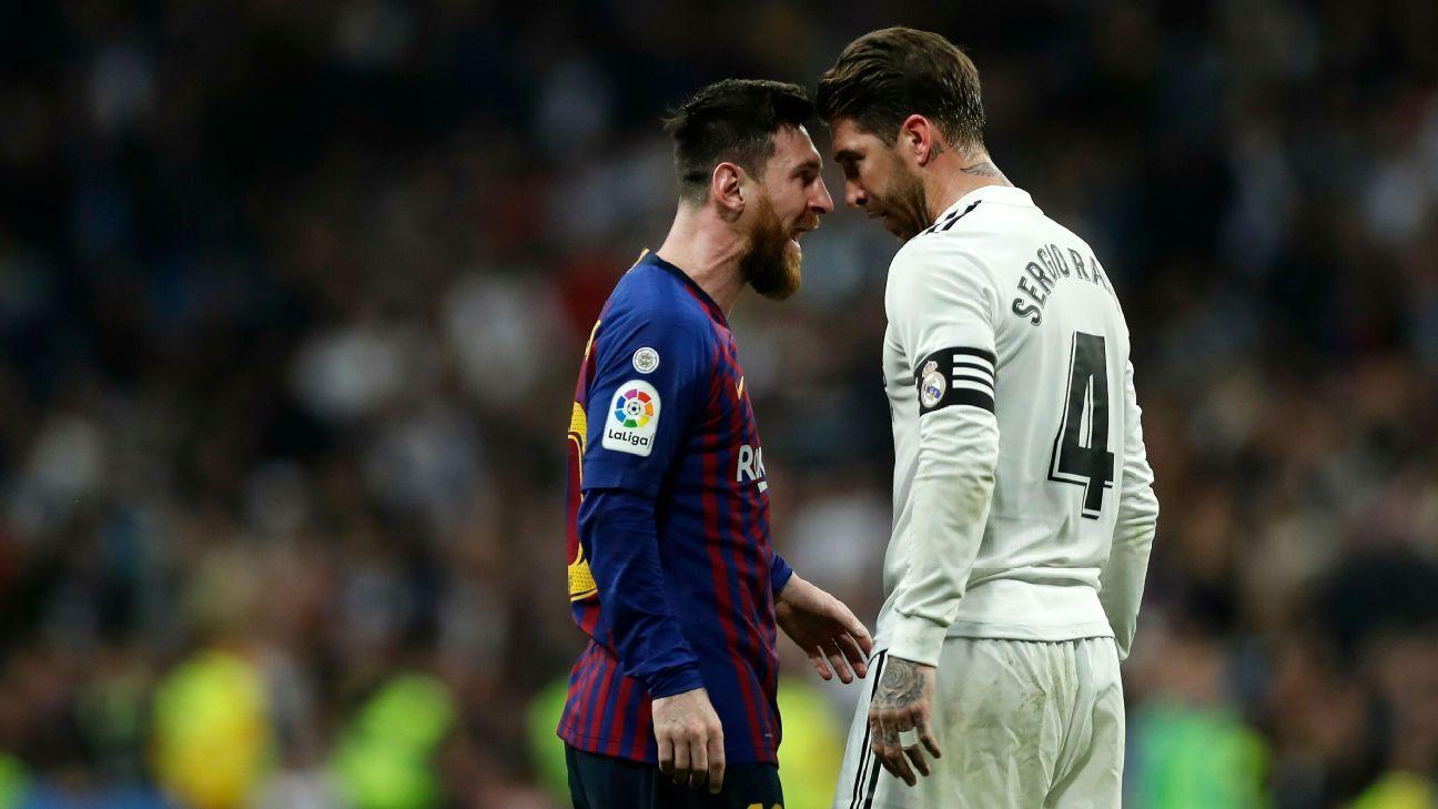 Ramos invita a Messi: 'Puede quedarse en mi casa si firma con Real Madrid'