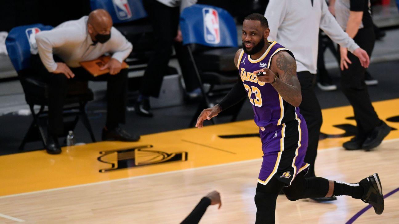 LeBron James, con piernas frescas para la segunda mitad de la temporada