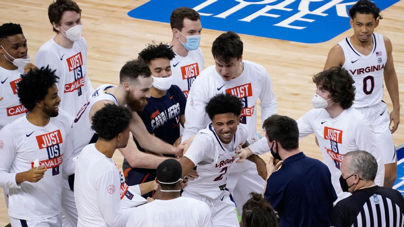 Virginia Cavaliers out of ACC men's basketball tournament after positive COVID-19 test – ESPN