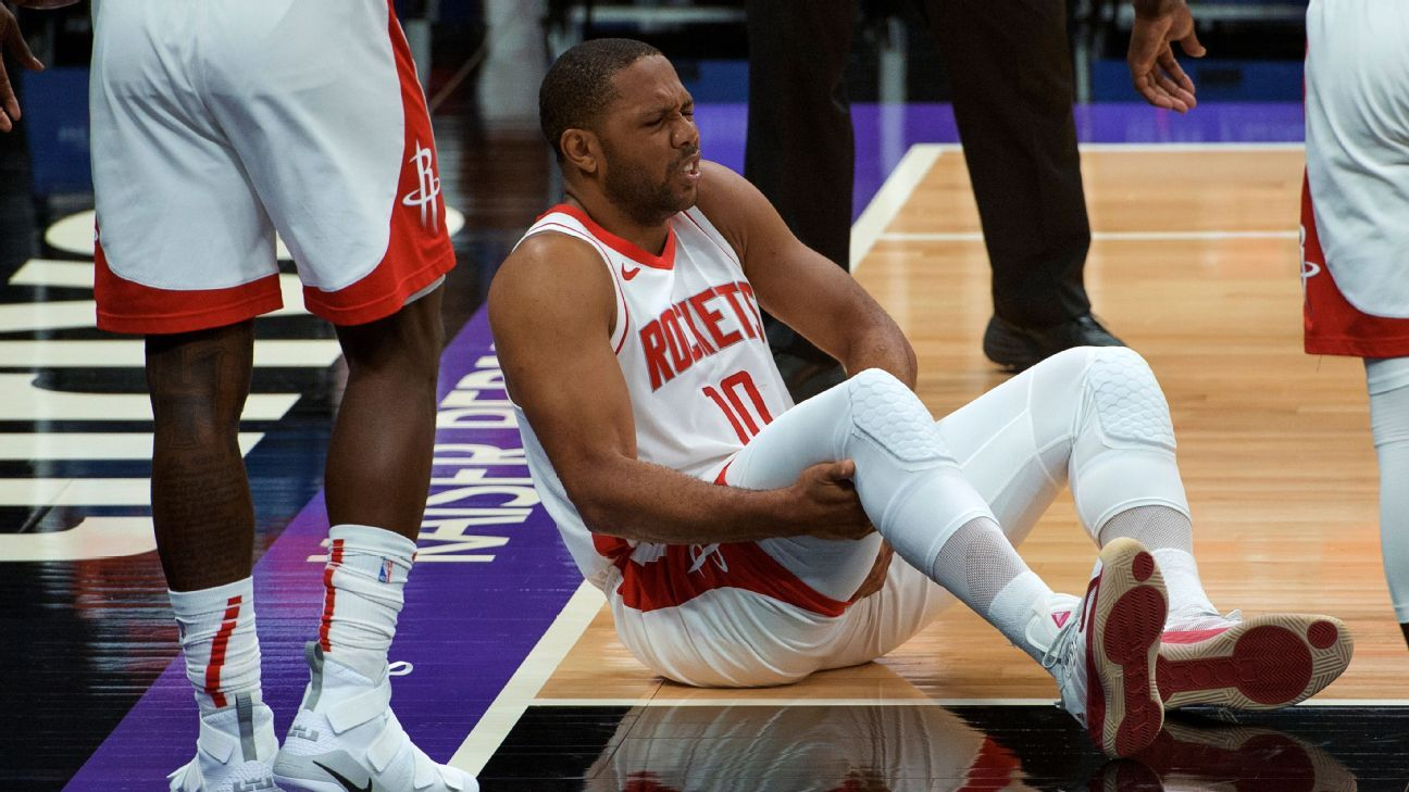 Eric Gordon of Houston Rockets out 4-6 weeks with groin strain - ESPN