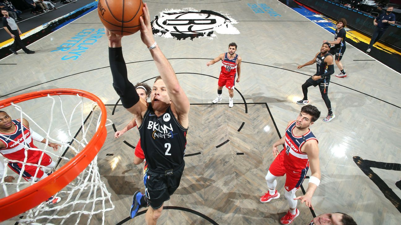 Blake Griffin returns to Brooklyn Nets on one-year deal, agent says