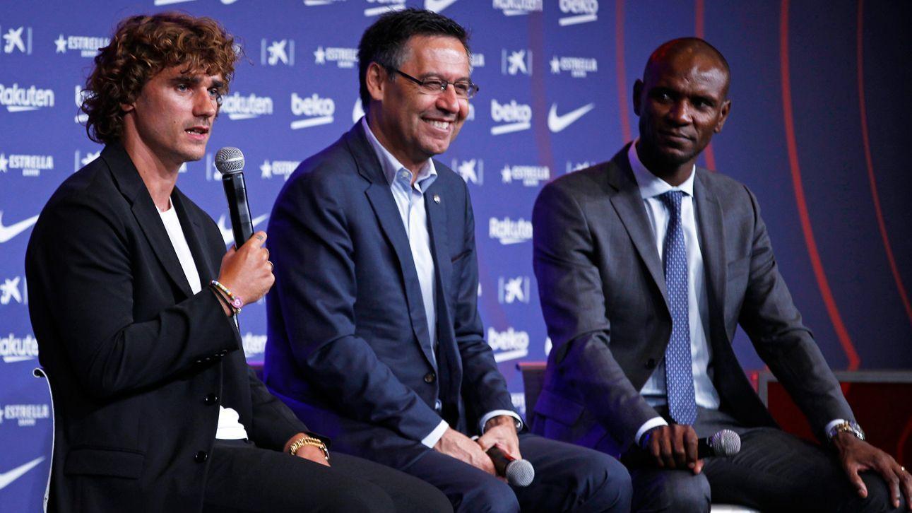 Abidal: Fichaje de Antoine Griezmann evitó regreso de Neymar al Barcelona