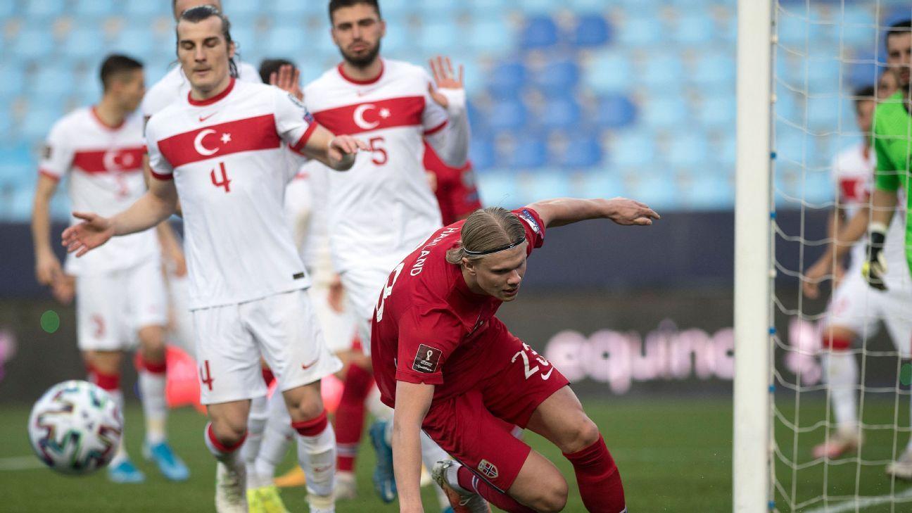 Norway vs. Turkey - Football Match Summary - March 27, 2021 - ESPN