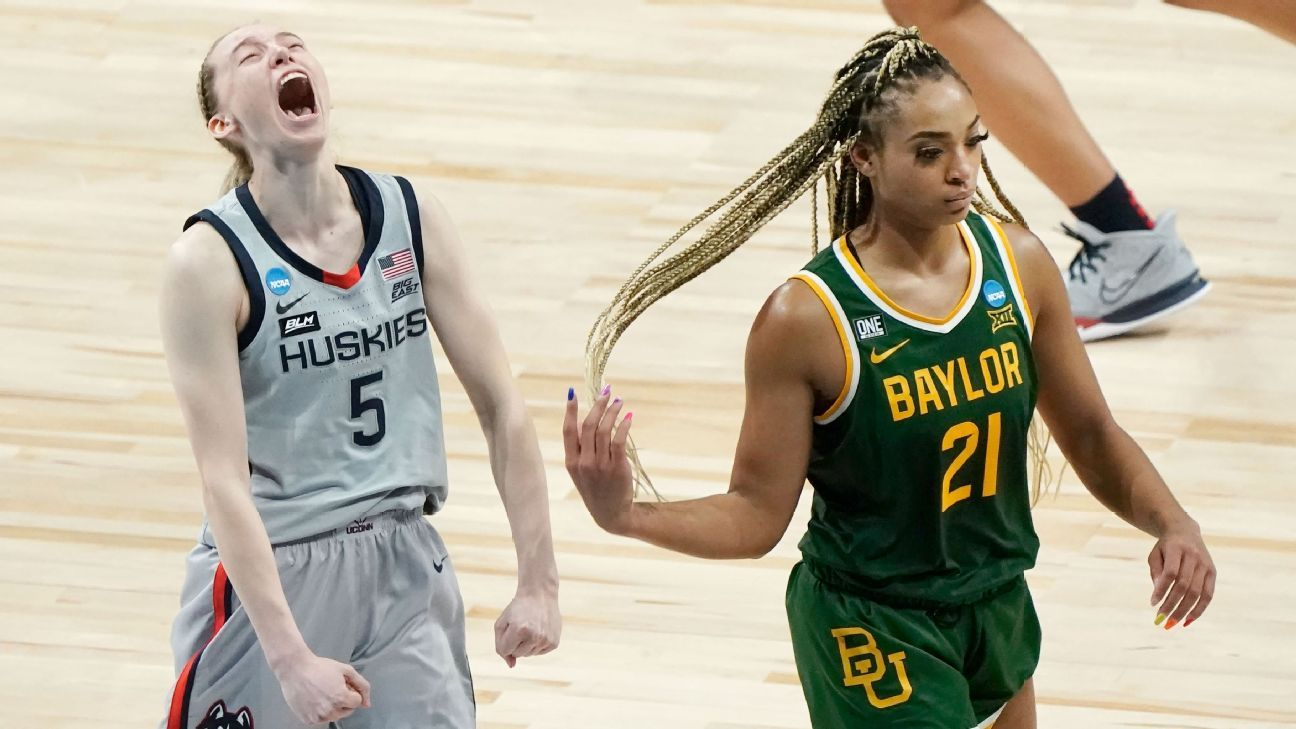 Baylor calls foul on non-call in loss to UConn thumbnail