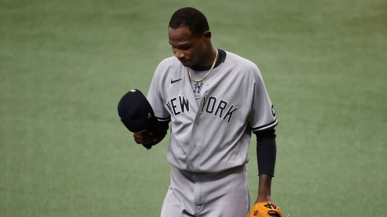Yanks option German after another rough outing