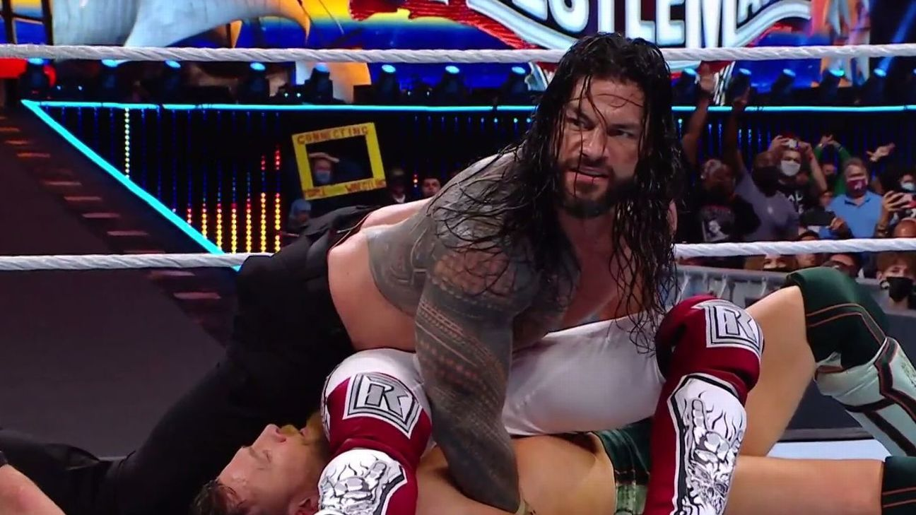 WrestleMania 37 Night 2 results: Roman Reigns retains, three other titles change hands