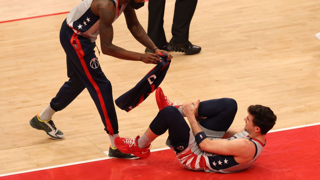 Source: Wizards' Avdija has hairline ankle fracture thumbnail