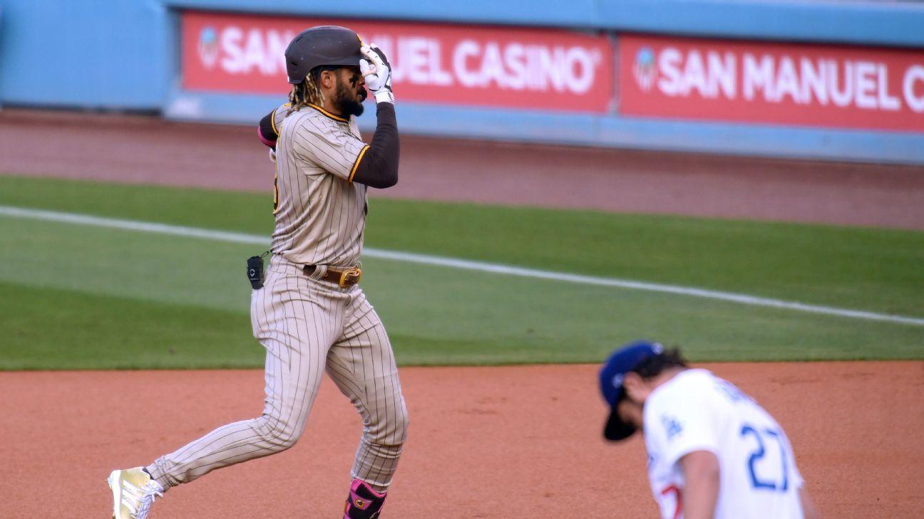 San Diego Padres' Fernando Tatis calls post-homer trolling of Trevor Bauer 'payback time' – ESPN