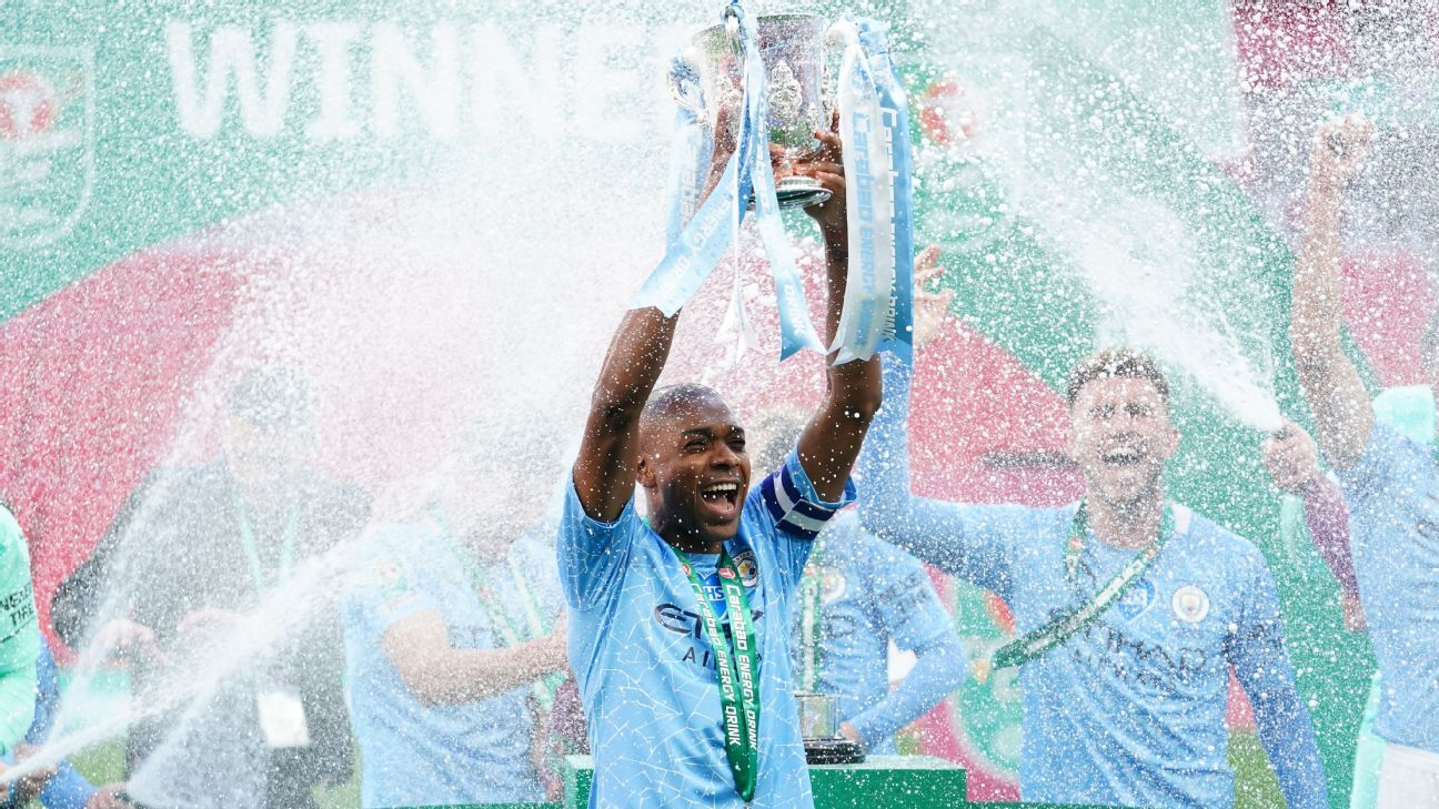 Stats: Manchester City tie Liverpool with 8th League Cup ...