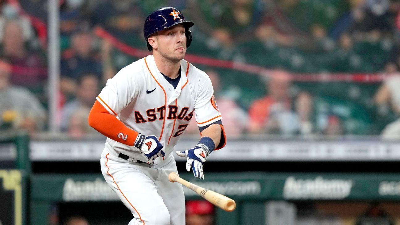 Alex Bregman, out since June, returns to Houston Astros