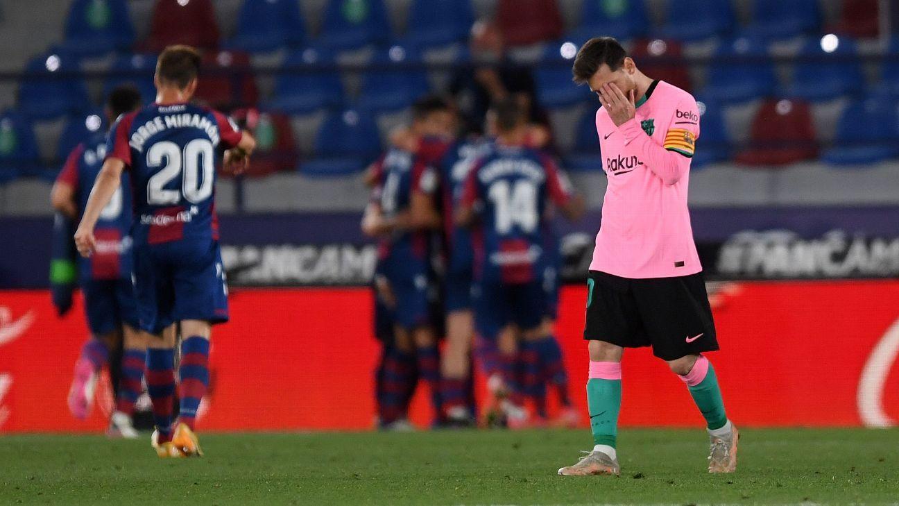Así queda el panorama de LaLiga tras el empate del Barcelona sobre Levante