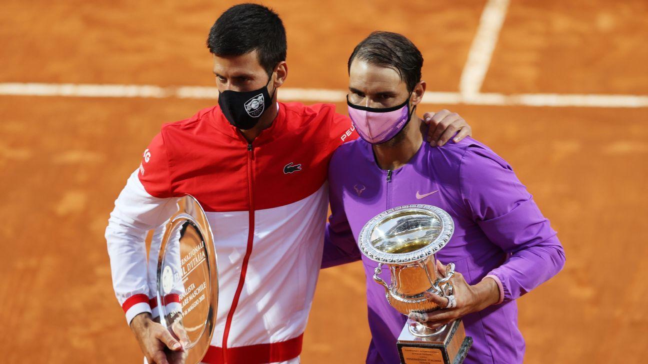 Nadal vence Djokovic e conquista pela 10ª vez o torneio de Roma