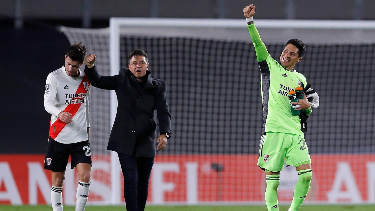 Keeper-less River secure memorable Copa Libertadores win