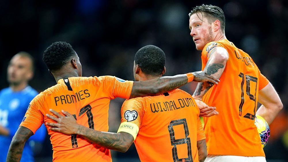 Ek Selectie De 25 Spelers Van Oranje