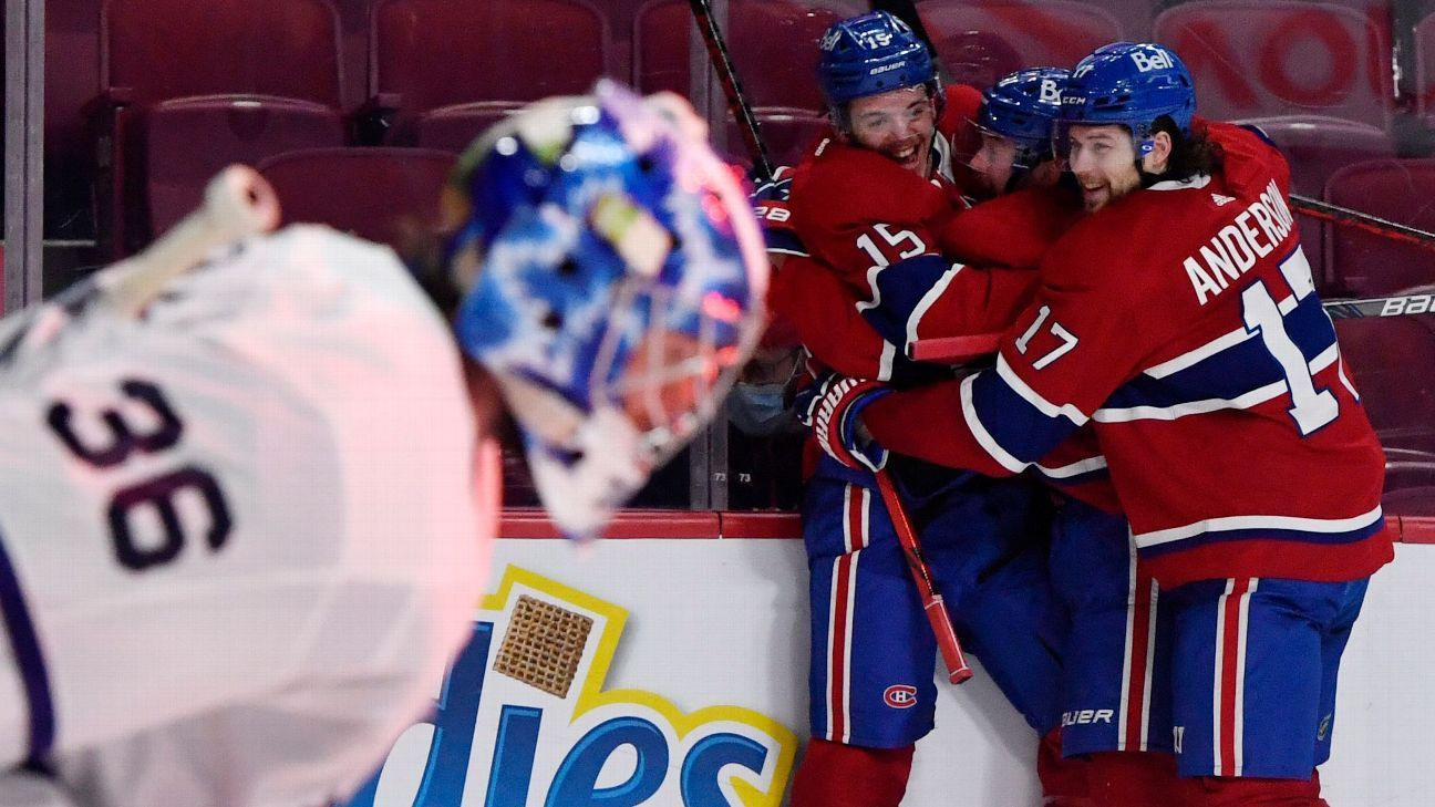 Star-laden Toronto Maple Leafs 'couldn't get it done' in Game 6 as Montreal Canadiens stay alive – ESPN