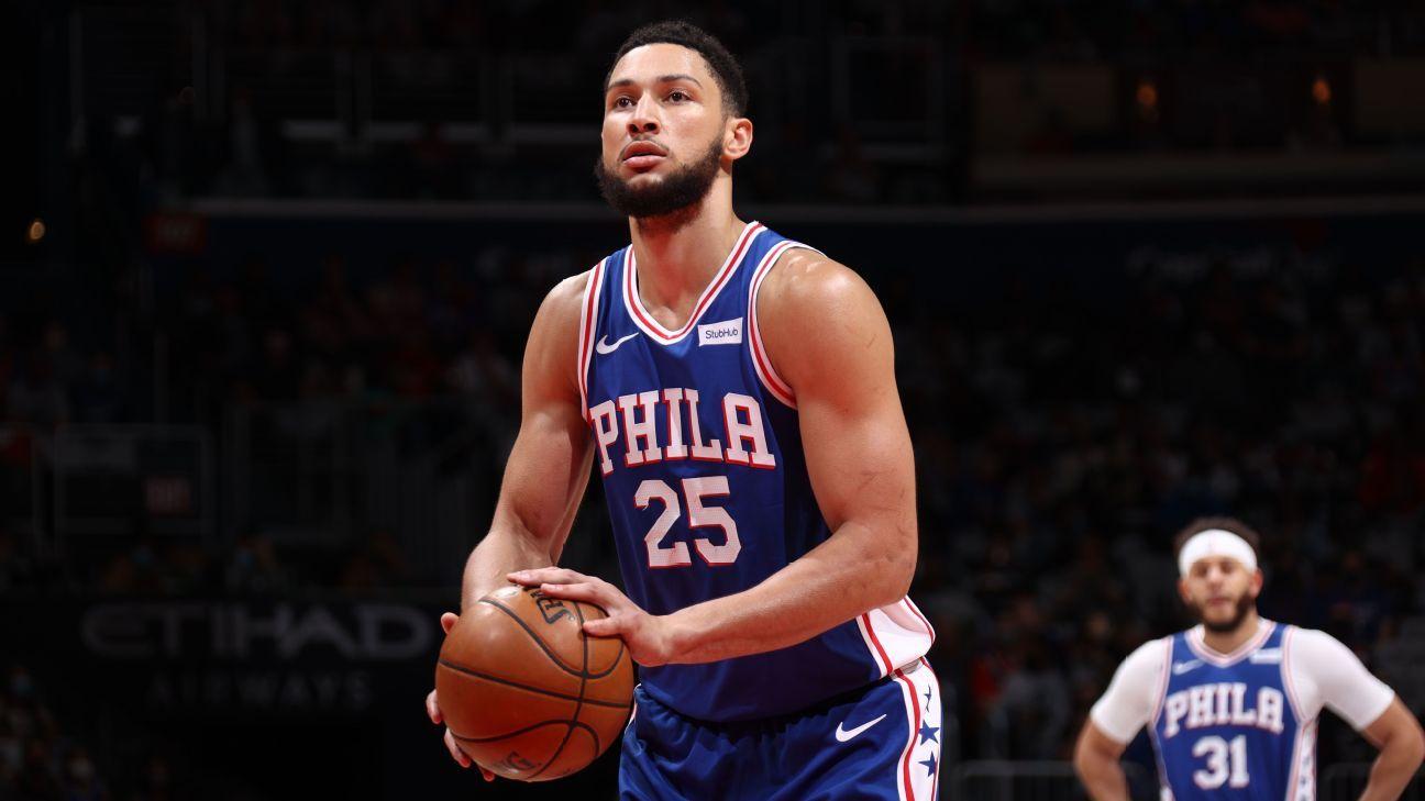 Philadelphia 76ers' Ben Simmons skipping Tokyo Olympics to focus on developing skills