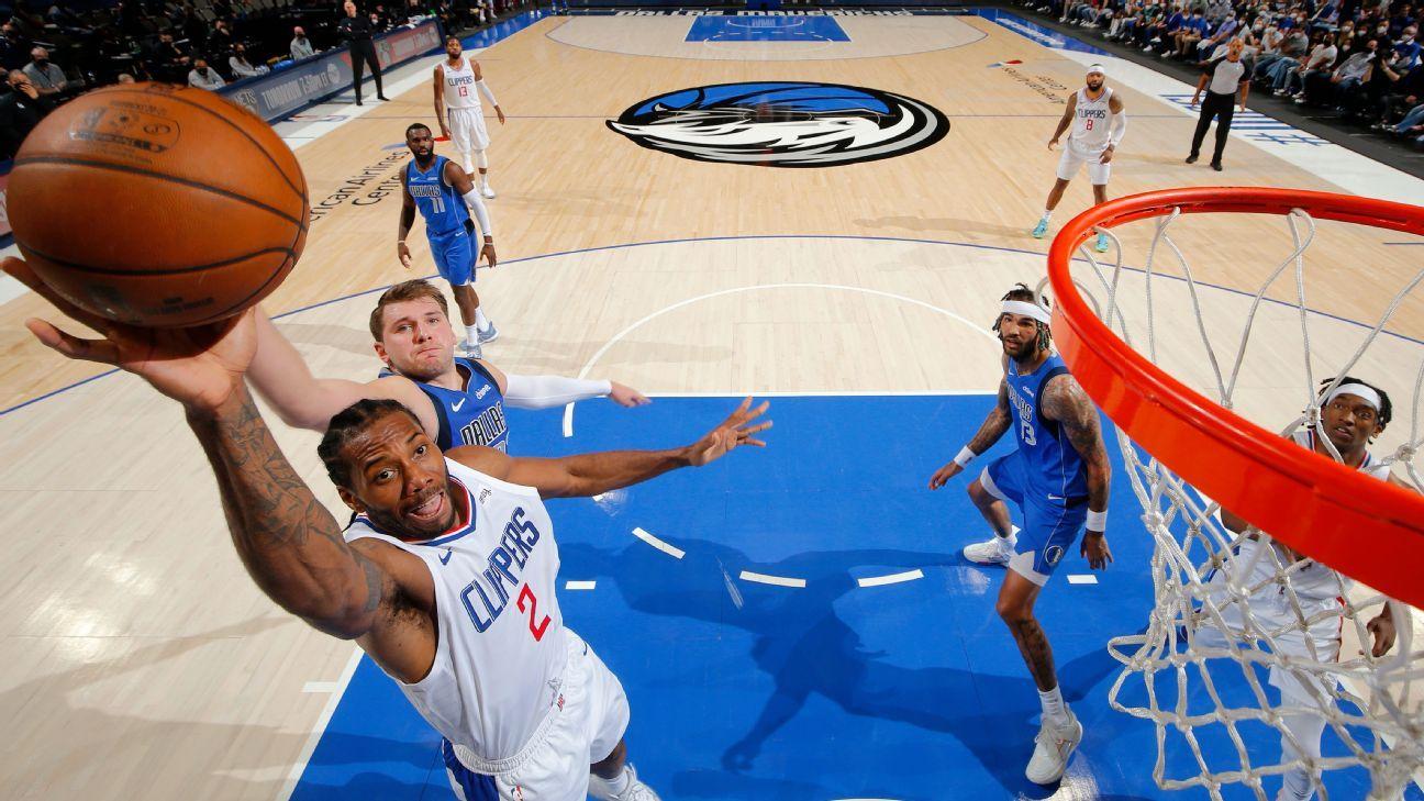Kawhi Leonard delivers in clutch as LA Clippers force Game 7 against Dallas Mavericks – ESPN