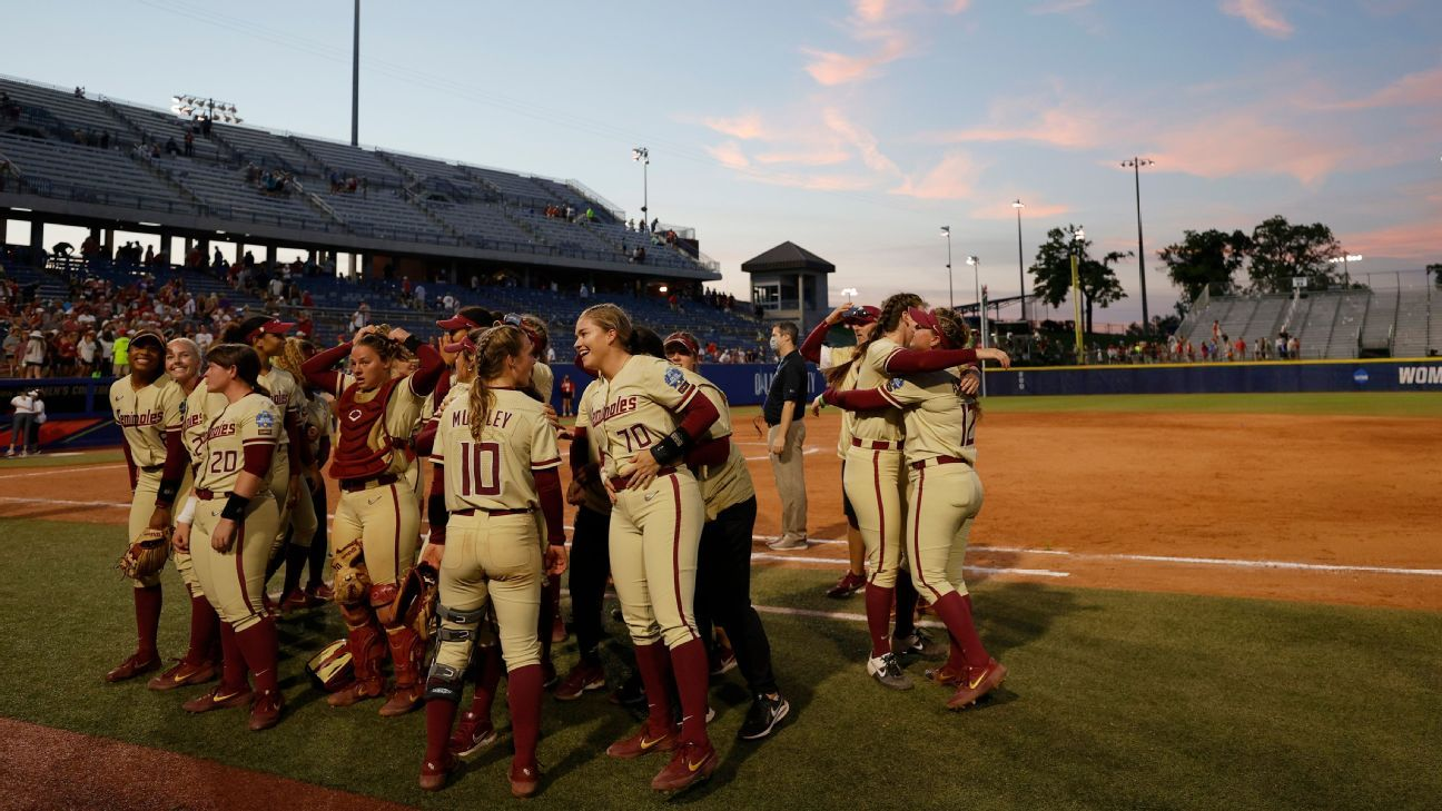 Sooners, FSU win 4 straight to land in WCWS final thumbnail