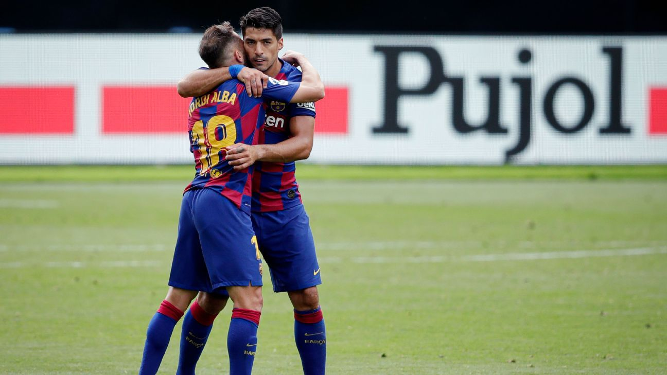 'A joke' that Barcelona gifted Atletico Madrid Luis Suarez - Jordi Alba - ESPN