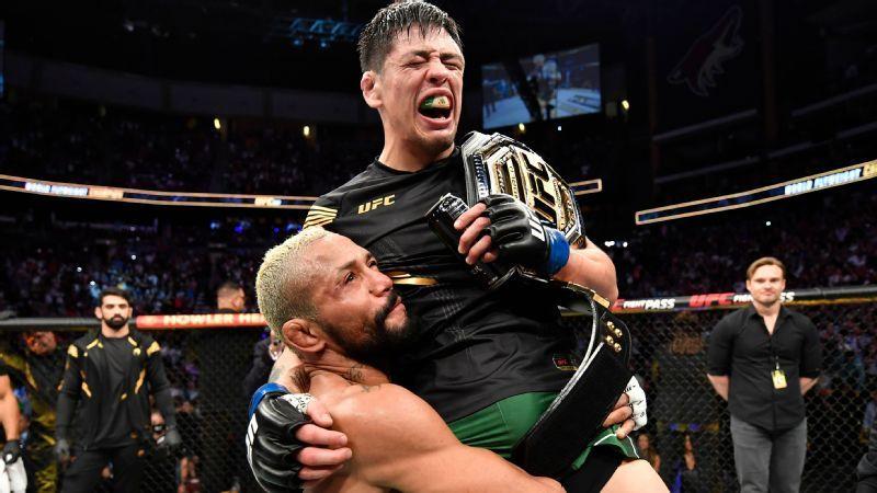 UFC 270 tem lutas principais oficializadas com trilogia para Deiveson e unificação de cinturão dos pesados