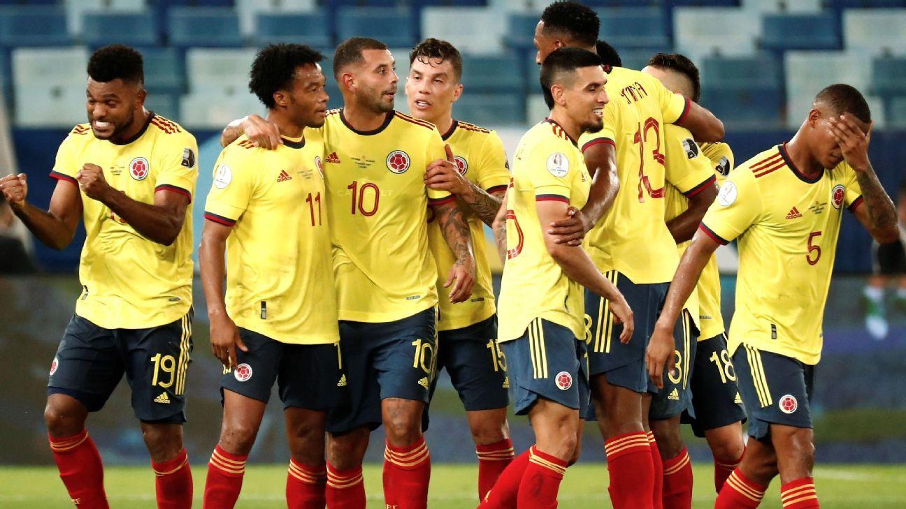 Colombia vs. Ecuador - Reporte del Partido - 13 junio, 2021 - ESPN
