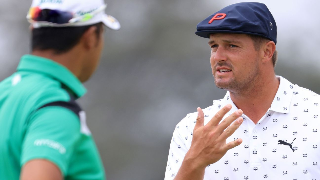 Sweet dream: Bryson finds fixes to swing in sleep