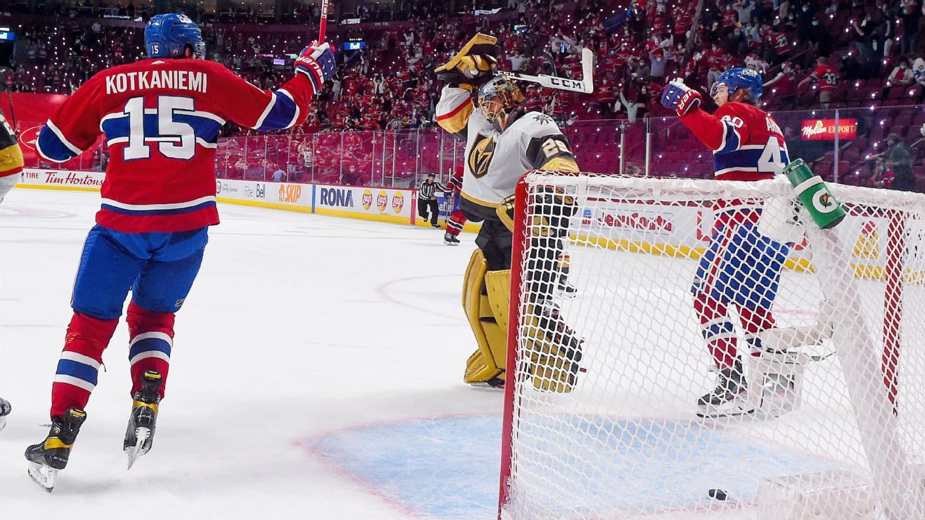 Late Fleury gaffe haunts Vegas in Game 3 loss